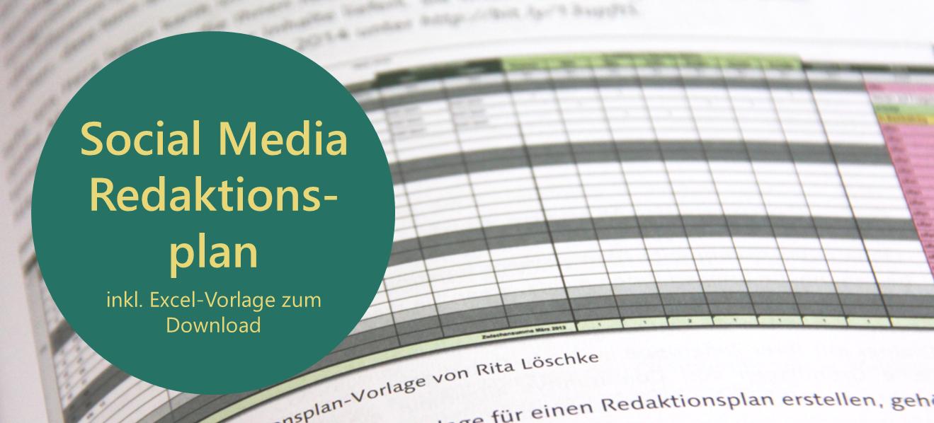 Social Media Redaktionsplan 2018 - Jetzt Excel-Vorlage downloaden ...