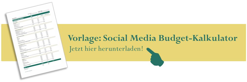 Vorlage herunterladen: Social Media Budget Kalkulator